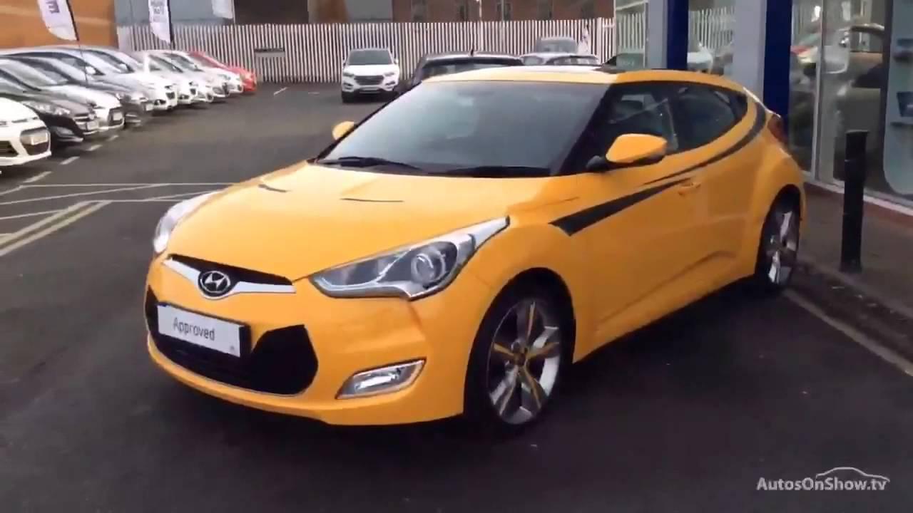 Hyundai Veloster Gdi Sport Yellow 2013 Youtube