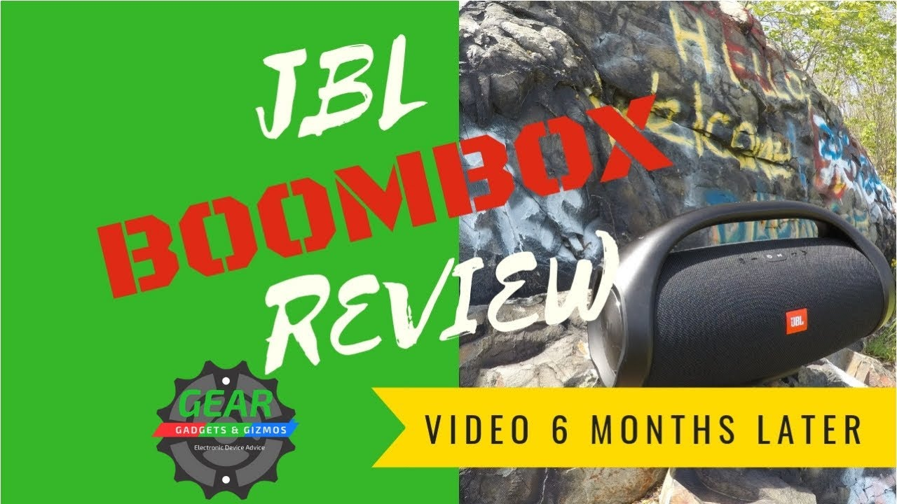 JBL Boombox Review - Gear Gadgets and Gizmos