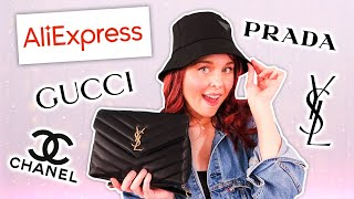 Investigating Fake Designer Items From Aliexpress! *are they worth it?!*