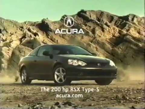 "Acura RSX Type-S Commercial ""Island"""