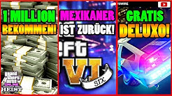 🙌Alle Neuen Inhalte!🙌 1 MIO Geld! GTA 6 LEAKS! Gratis DELUXO + Mehr! [GTA 5 Online Casino Heist DLC]