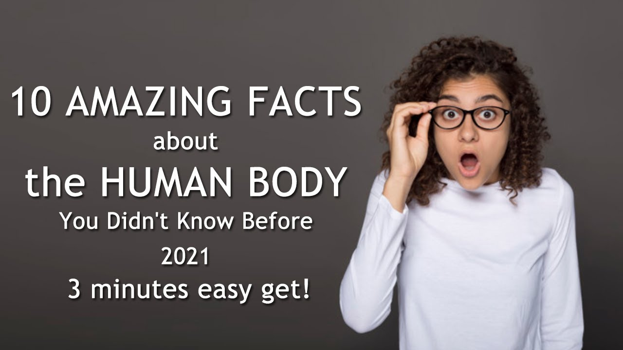 10 Amazing Facts About The Human Body You Didn't Know Before 2021 | Human body mystery