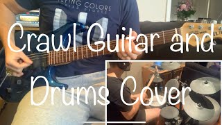 Flying Colors - Crawl - Guitar and Drum Cover