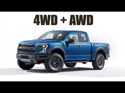 The Ford Raptor Has Both 4WD & AWD!