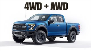 The New Ford Raptor Has Both 4WD & AWD!