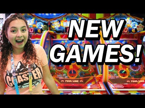 Lots of NEW Arcade Games at the IAAPA Attraction Expo 2017!