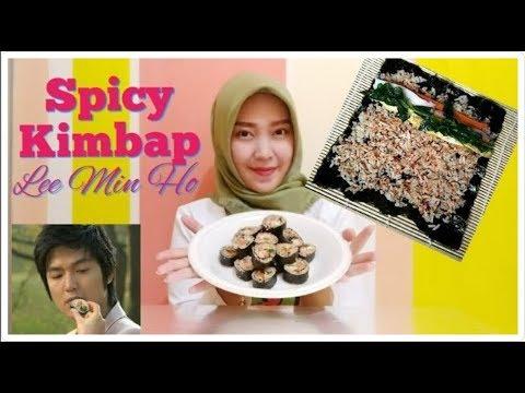 Resep Kimbap (Gimbap) Korea Rasa Sunda (seuhah Lada)