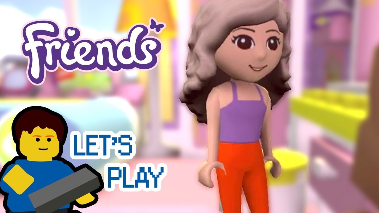 LEGO Friends Dress Up Game - Rioforce\'s Let\'s Plays - YouTube