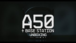 A50 Wireless + Base Station Unboxing || ASTRO Gaming