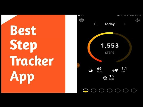Best Step Tracker App (Android)
