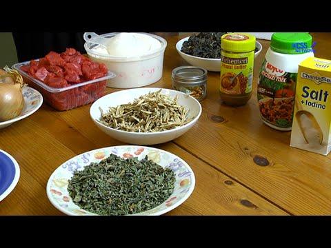 Zimbabwe Cuisine Mufusha Nenyama, Dori Nematemba & Sadza