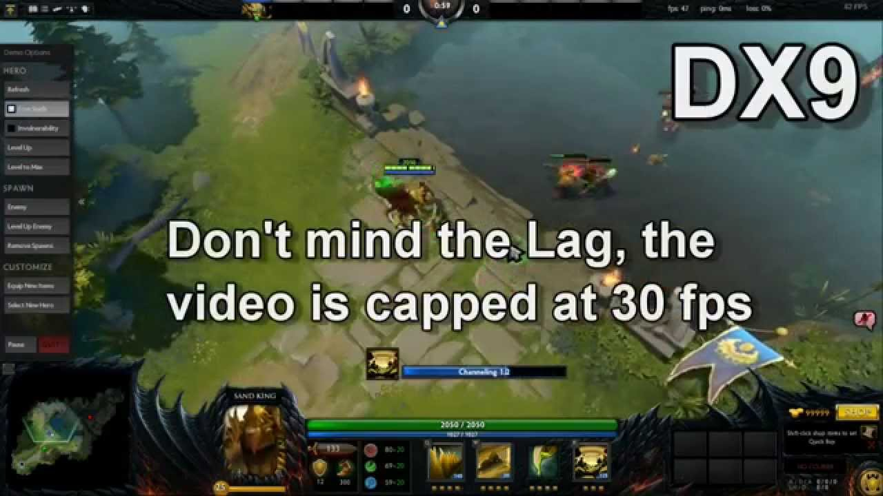 dota 2 reborn how to make it dx11 dx11 vs dx9 fps on 610m youtube
