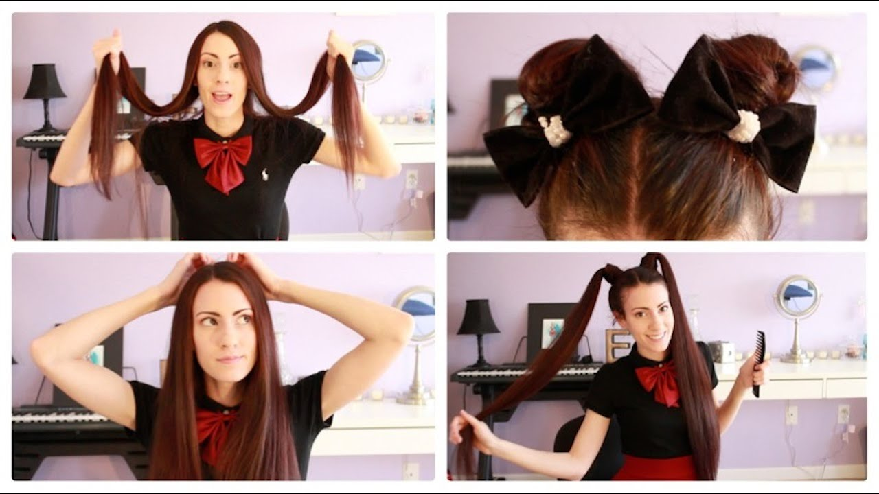 ♥ easy hairstyles for super long hair ♥