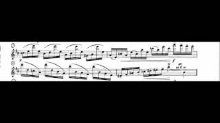 tmea all state band 2015 2016 flute etude 1 d major