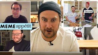 The BA Test Kitchen Meets Meme Appétit | Behind the Meme | Bon Appétit