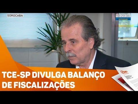 TCE-SP divulga balanço de fiscalizações - TV SOROCABA/SBT