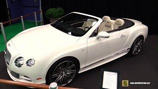 Bentley Continental GT Speed Convertible 2015 Videos
