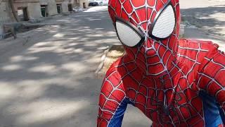 Неудачные дубли Человек паук #приколы
