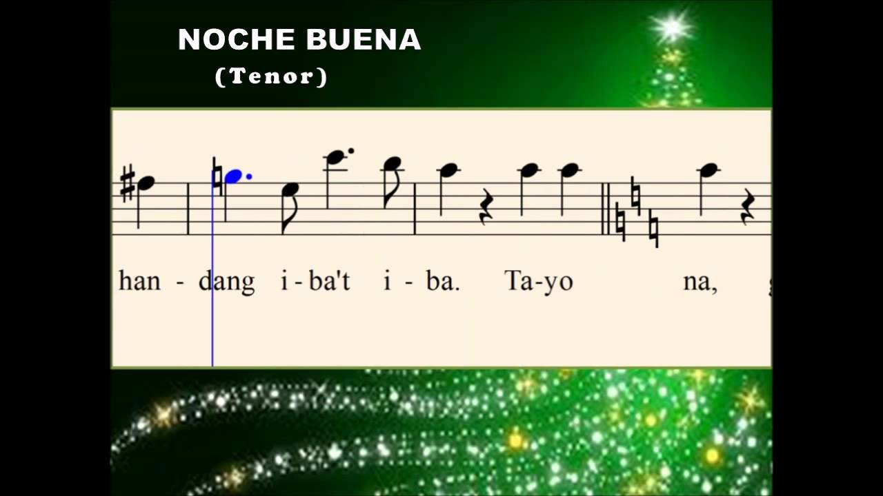 noche buena christmas songs Noche buena 4 payapang daigdig 5 opm christmas songs 1christmas in our hearts filipino christmas songs, opm christmas songs, tagalog christmas.