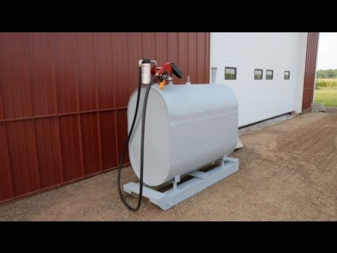 DIY Diesel Storage Tank YouTube