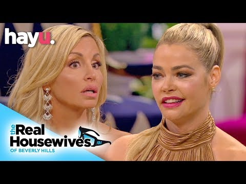 Camille Grammer Insinuates Denise Richards Is Lazy   Season 9   Real Housewives Of Beverly Hills
