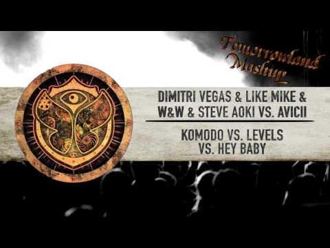 Dimitri Vegas & Like Mike & W&W vs. Avicii - Komodo vs. Levels vs. Hey Baby // TML Mashup
