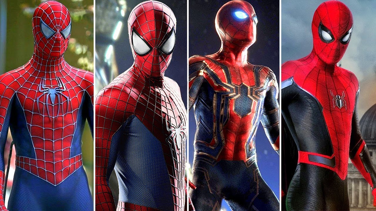 Spider-Man All New All Different costume suit NEW 2019