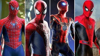 The Evolution of Spider-Man's Suits in Movies (2002-2019)