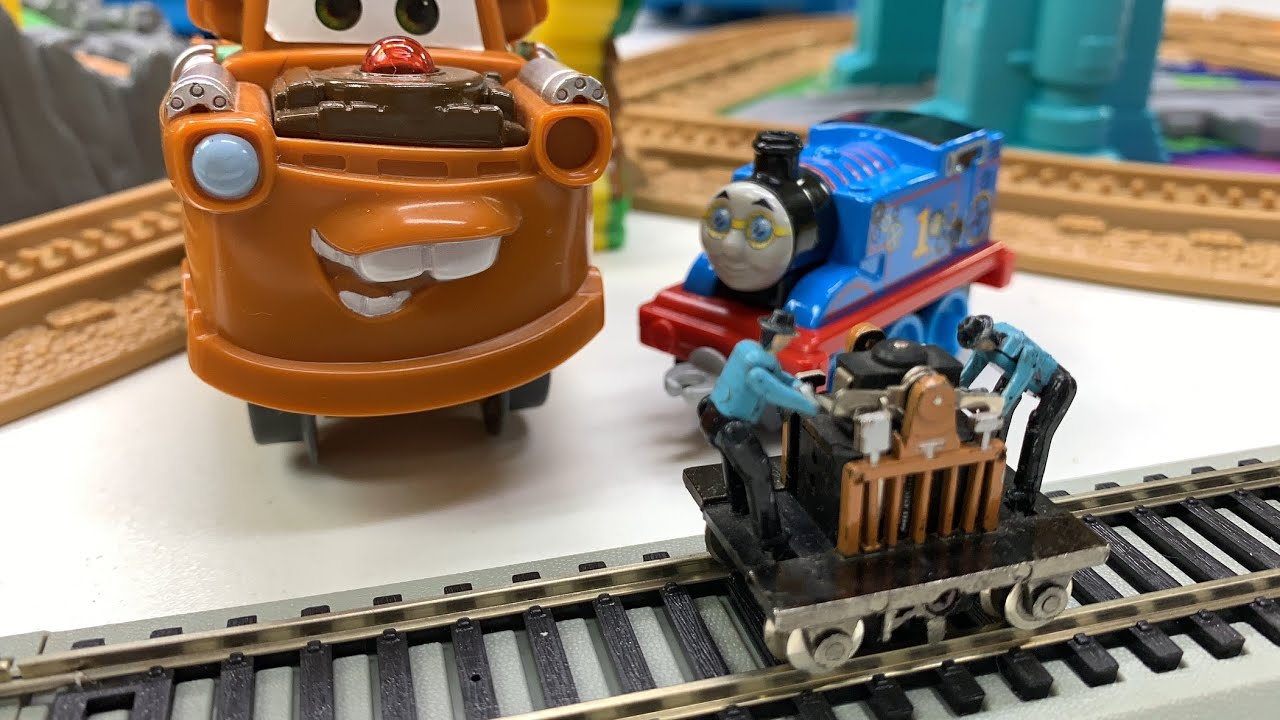 ALL KINDS OF TRAINS   and Kittens! Gandy Dancer, Geotrax, Thomas & Friends