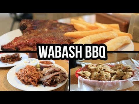 Best Bbq Restaurants In The Kansas City Area Episode 1 Wabash Bbq Restaurant Review