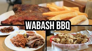 Best BBQ Restaurants in the Kansas City Area  Episode 1! WABASH BBQ  Restaurant Review