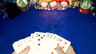Для Дамы(на Себя) на Игральных картах На Будущее. Гадание на Себя Любимую