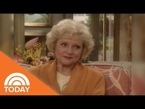 Betty White And Rue McClanahan Talk 'Golden Girls' On TODAY In 1991  TODAY