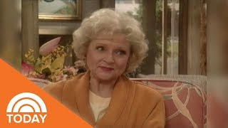 Betty White And Rue McClanahan Talk 'Golden Girls' On TODAY In 1991 | TODAY
