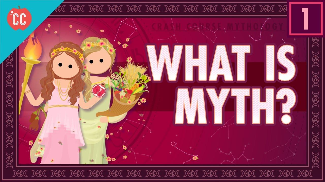 hight resolution of What Is Myth? Crash Course World Mythology #1 - YouTube