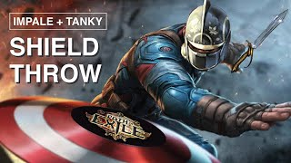 Captain America is here to CARRY you....or not (Impale Shield Throw) 3.11