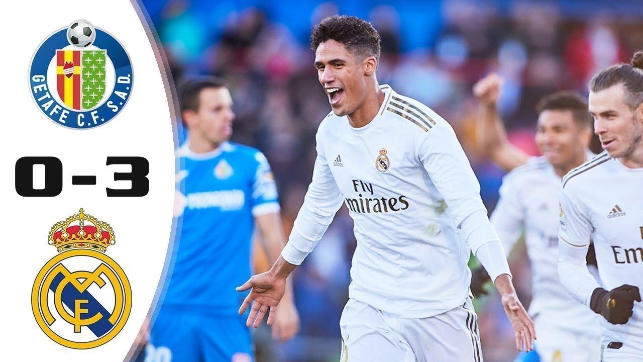 Real Madrid Vs Getafe 3 0 All Goals Highlight Extended