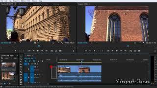 Монтаж клипов в Adobe Premiere Pro CC
