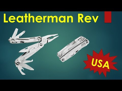 Leatherman Rev - Budget Multi Tool made in the USA