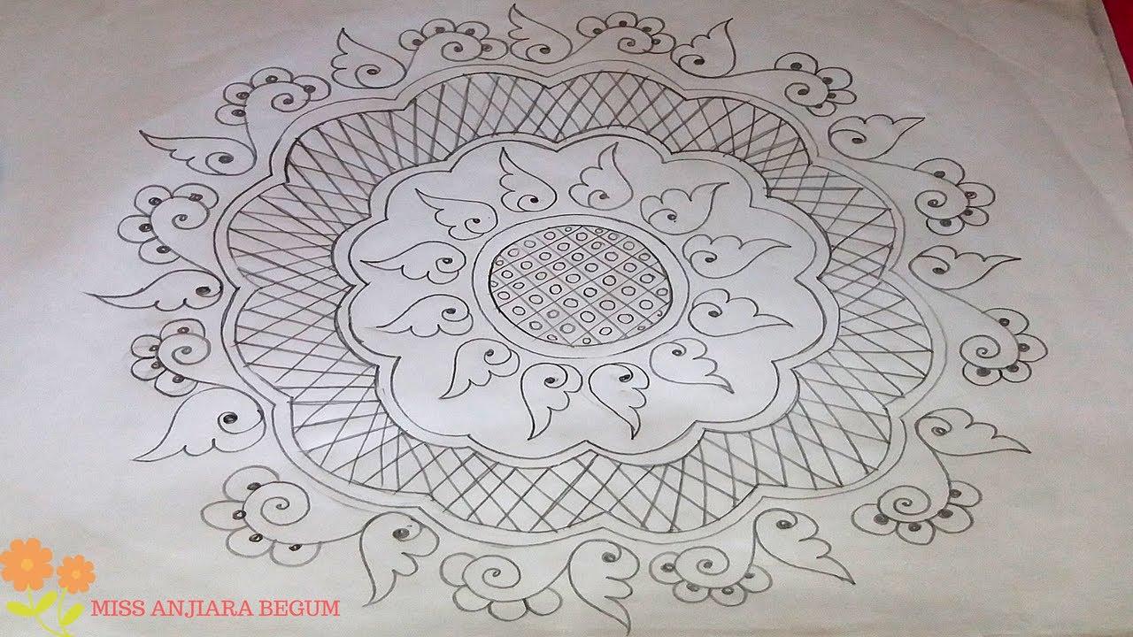 Cushion Cover Design Drawing 2 Tea Table Cloth Bed Sheet ক শন ড জ ইন