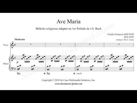 Gounod : Ave Maria - C Major