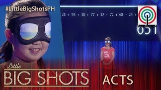 Little Big Shots Philippines: Mikyla | 10-year-old Blindfold Arithmetic Expert