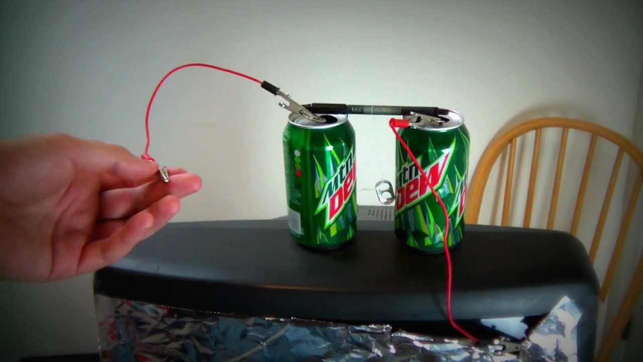 Electromagnetic Experiment Youtube Build A Light Bulb Circuit Science The Lab