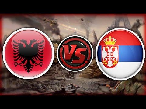 ALBANIA VS SERBIA - Lufta Po Afrohet - Minecraft Shqip - Episodi i 1 !