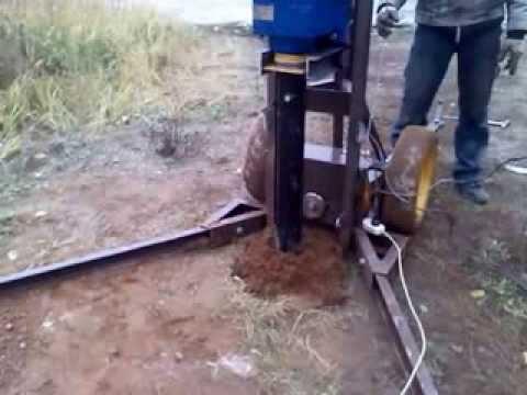 Сваекрут. Оборудование для монтажа винтовых свай - YouTube