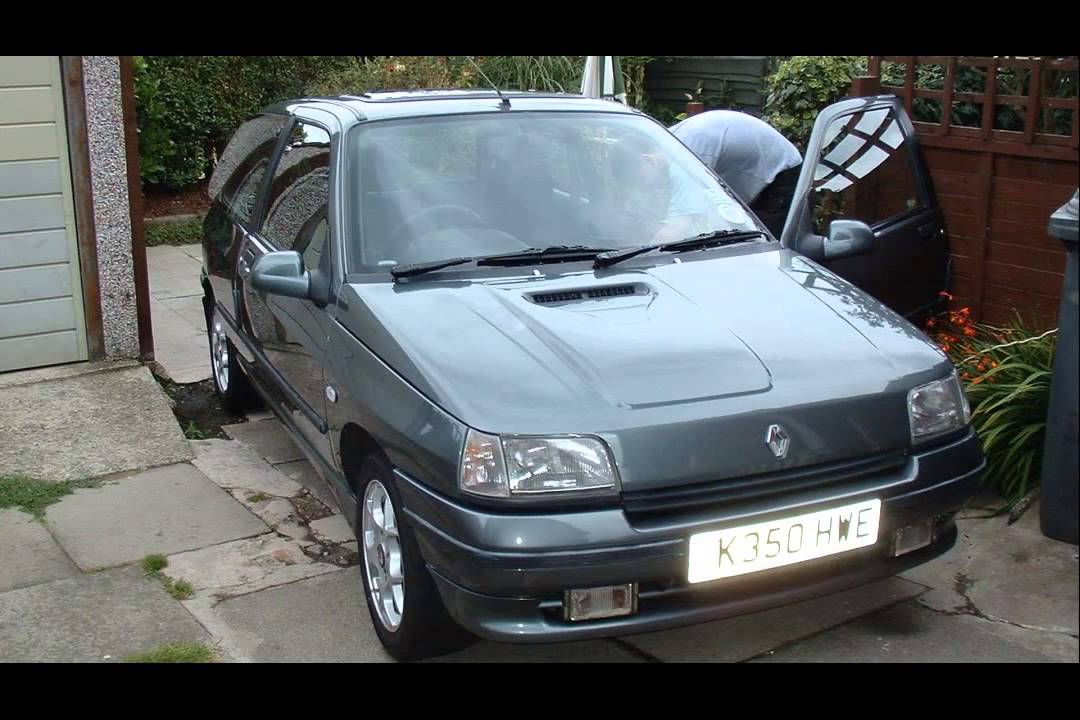 renault clio 1 4 rt tuning youtube. Black Bedroom Furniture Sets. Home Design Ideas