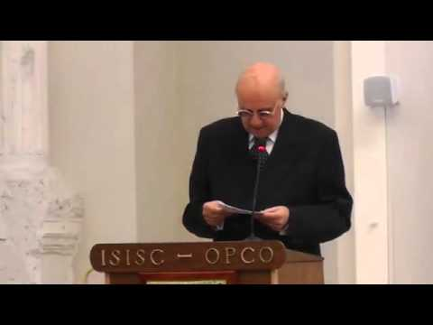 ISISC's 40th Anniversary - Dr. Gianfranco Ciani, Attorney General of the Italian Court of Cassation