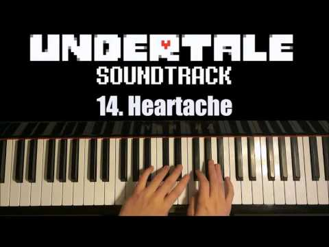Undertale OST - 14. Heartache (Piano Cover by Amosdoll)