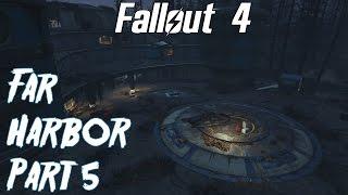 Fallout 4 Far Harbor Playthrough: Part 5- Cliff's Edge Hotel We spe...