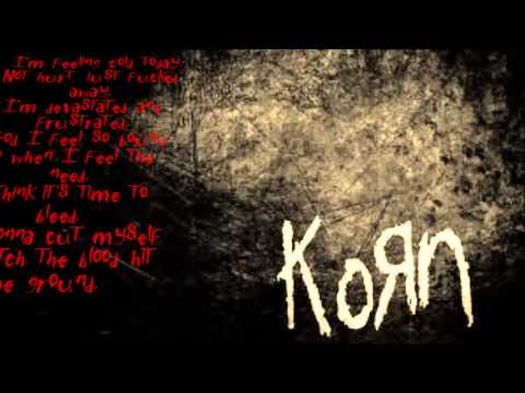 KoRn- Right now  (HD lyrics)